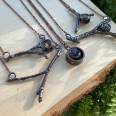 Artemis Collection - Twig & Solid Botanical Necklaces