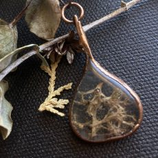 Antheia Collection - Freeform Botanical Necklaces